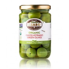 Asaro Organic Castelvetrano Olives - Whole - 170 gm