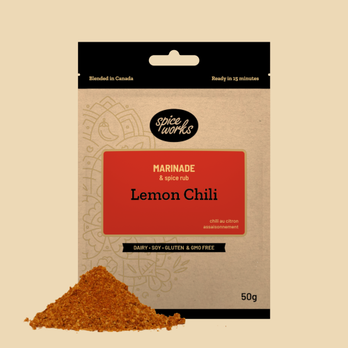 Spice Works Lemon Chili Marinade
