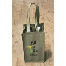 Re-usable Four compartment shopping bag
