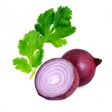 Cilantro and Red Onion Infused Extra Virgin Olive Oil