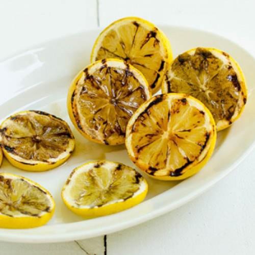 Grilled Lemon White Balsamic Vinegar